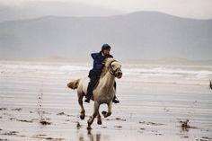 Equestrian Holidays on the Dingle Peninsula. (Begin deep breaths)