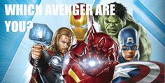 Quiz: Which Avenger Are You? I got the Hulk: you can smash but beneath that you have a heart of gold