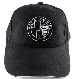 Unisex Womens Men Alfa-Romeo-Logo-Funny Hip Hop Sports Outdoor Strapback Messy Print Hat