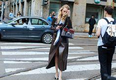 "fwspectator: "" Fashion Week Spectator | daily street style """