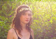 Medium Flower Flexible Wire Headband.