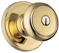 Weiser Lock GA531T-S Troy Single Cylinder Keyed Entry Door Knob Set from the We