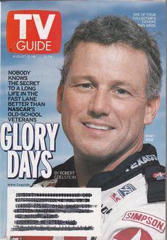 Ricky Rudd August 12-18 2000 TV Guide NASCAR 1998