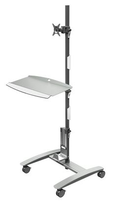 Free Standing Swing Away Laptop Desk Stand I Just Got One