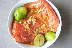 Sriracha Salmon Marinade