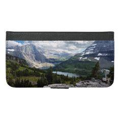 Hidden Lake Overlook Glacier National Park Montana iPhone 6/6s Plus Wallet Case