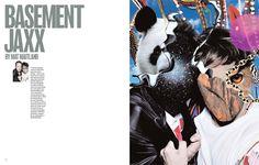 Bassment Jaxx part of Rankin 'Destroy Series'.