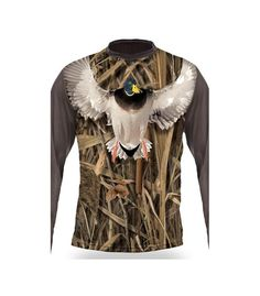 Mallard T-Shirt Short Sleeve - 1006 3d T Shirts, Hunting Clothes, Mallard, Sleeves, Collection, Tops, Women, Fashion, Moda