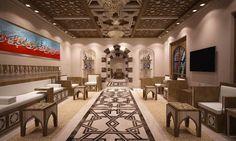 Arabic Majlis @ Al Rayan - Qatar Design By Remal Architects  Architect. Adnan Elmaleh