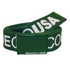 DC Shoes ceinture réversible chinook 5 belt green 20€ #belt #ceinture #dc #dcshoes