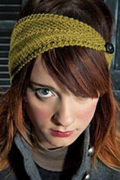 Ravelry: Dryad headband pattern by Katya Frankel