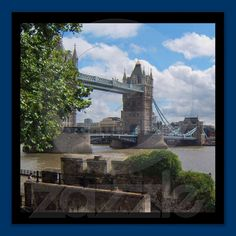 "London Tower Bridge 13""x13"" Poster $12.55"