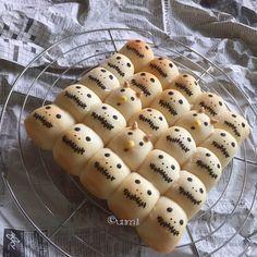 ハロウィン☆ジャックとゼロの一口ちぎりパン