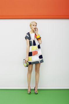 Modern Clown :: Clown Fashion - Marimekko´s Spring 2013