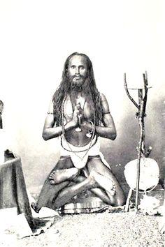 1903: Vintage yoga photograph from India .... #vintageyoga #yogahistory #yoga #om #namaste #vintagephoto