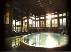 Momoyama bath of Yorozu-ya in Nagano, JAPAN