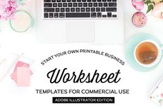 FREE UNTIL MAY 27! :: Worksheet Templates for Illustrator by Michelle Hickey Design on @creativemarket