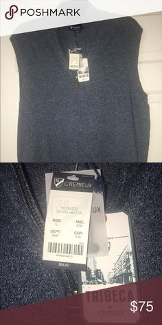 Daniel Cremieux Vest Great gift for Dad size Large can wear in any season! Daniel Cremieux Sweaters Zip Up