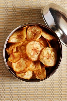 Banana chips recipe | Plantain chips recipe | Cook click n devour!!!