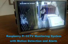 Raspberry Pi CCTV Motion Detection