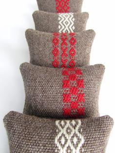 Rosepath in Wool Pincushions