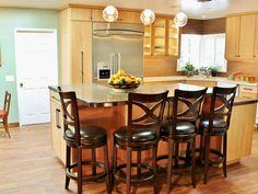 46 Best Kitchen Island Seating Images In 2014 Kitchen