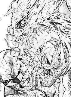 Batman Hush 3 | Studies based Jim Lee work