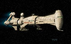 Spaceship Concept Model.
