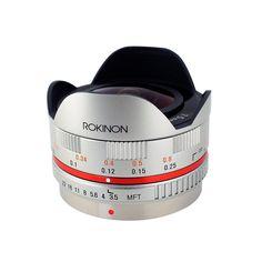 Rokinon FE75MFT-S 7.5mm F3.5 UMC Fisheye Lens for Micro Four Thirds