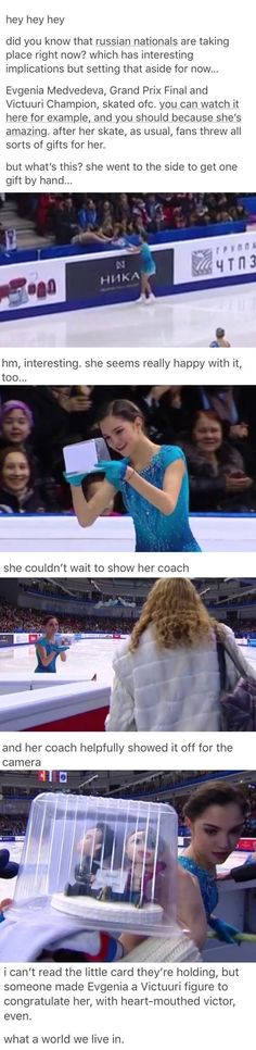 This makes me really happy || Russian ice skater gets Yuri on Ice fan gifts!
