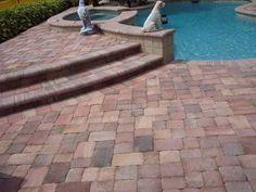 piscina con baldosas de #terracotta #handmade #decoración
