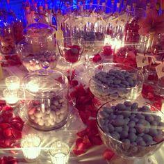 Tavolo bombonierata e degustazione confetti!