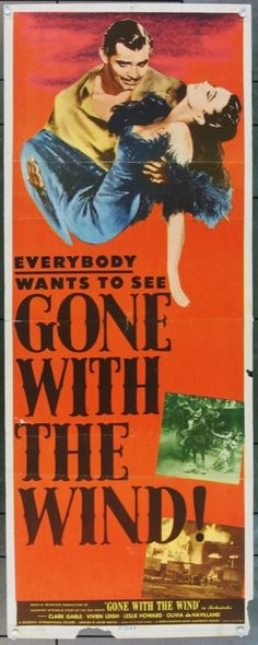 MovieArt Original Film Posters - GONE WITH THE WIND (1939) 4489, $600.00 (http://www.movieart.com/gone-with-the-wind-1939-4489/)