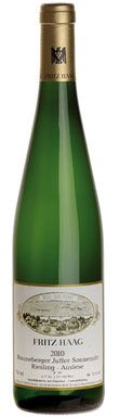 Fritz Haag, very good Mosel Riesling!