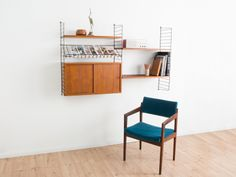 Original 60s Jahre String-Regal mit Container von MID CENTURY FRIENDS auf DaWanda.com