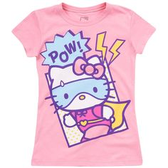 HELLO KItty Super Hero Tee
