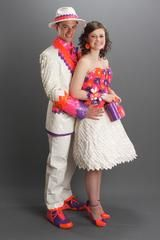 Cute prom duct tape clothes