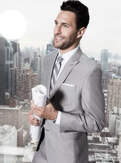 Calvin Klein slim fit suit — tailored perfection