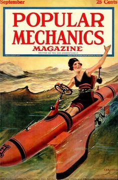 1921...human torpedo!