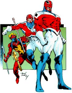 The many costumes of Captain Britain