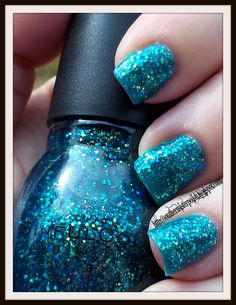 a dupe of China Glaze's Atlantis! must find! Sinful Colors Nail Junkie!