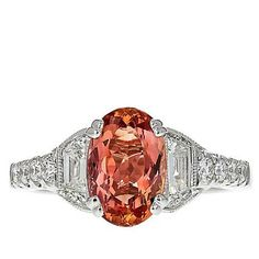Gold & Diamond Source® White Gold Imperial Topaz and Diamon - 8515992 Gold And Diamond Source, Imperial Topaz, Holiday Wishes, Topaz Ring, Girls Best Friend, White Gold, Jewels, Rings, Jewerly