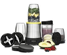 BELLA Rocket Extract PRO Power Blender 15 Piece set stainless steel -- Check out the image by visiting the link. Best Smoothie Blender, Smoothie Mixer, Good Smoothies, Smoothie Cleanse, Rocket Blender, Mini Blender, Nutribullet 600, Best Blenders, Coffee Accessories