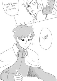 naruto invites gaara to his wedding .all here : http://jollyart.tumblr.com/post/106536852800/wedding-invites-gaara-this-is-how-i-pictured-it