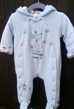 324199fe1e1e Baby Girls Snowsuit Pink Plush Finish Removable Mittens 0-3m 6kg ...