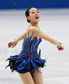 Mao Asada / figure skater. The ISU World Figure Skating Championships 2014 in Saitama Japan.