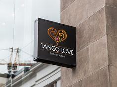 Logo design for argentine Tango Show & Bistro. (2015)