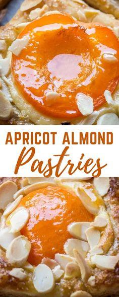Apricot Filling Recipe, Apricot Dessert, Appetizer Recipes, Dessert Recipes, Almond Pastry, Puff Pastry Desserts, Apricot Recipes, Trifle Pudding, Homemade Snickers