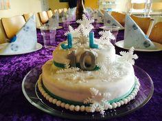Snowflakes cakes