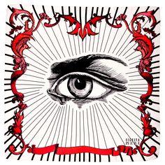 Have an Eye on You Silk Scarf Mystic Eye, Crafty, Silk, Eyes, Neckties, Pattern, Painting, Beautiful, Scarves